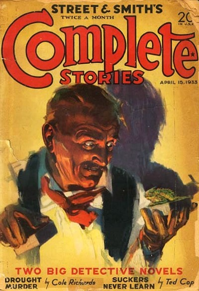 complete stories pulp magazine