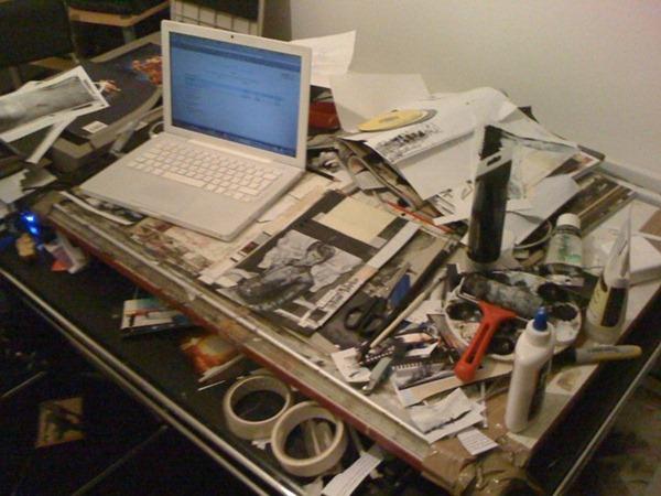 Roy Huteson Stewart's desk