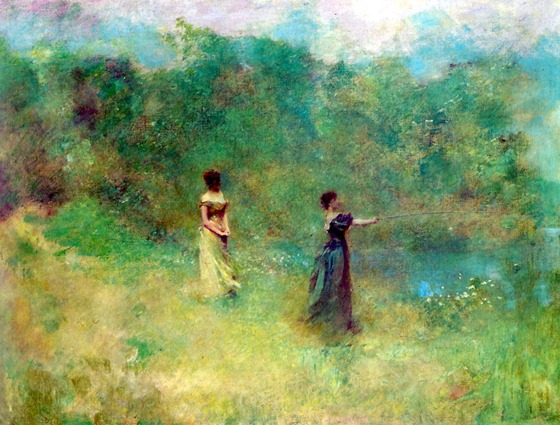 Thomas Wilmer Dewing, Summer, 1890