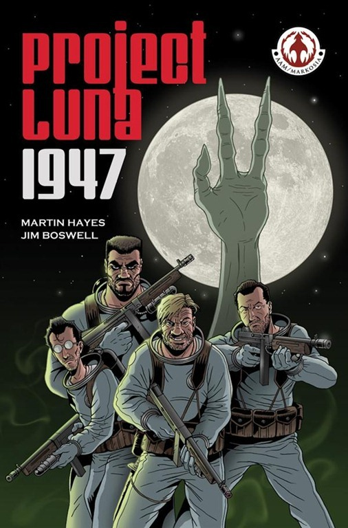 Project Luna 1947 - cover - Martin Hayes, Jim Boswell