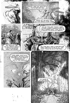 Aleister Crowley Wandering the Waste - preview5