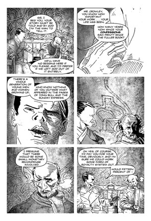 Aleister Crowley Wandering the Waste - preview8